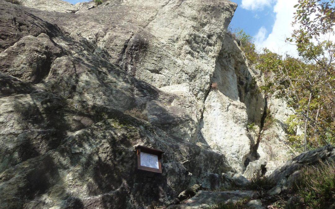 La Falesia di Chiam-pernotto, in Val d'Ala