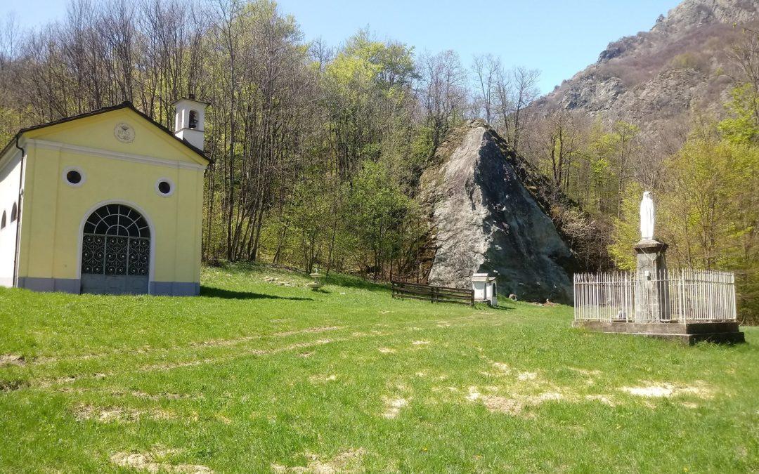 Falesia Rocca della Madonnina, a Chiandusseglio in Val di Viù