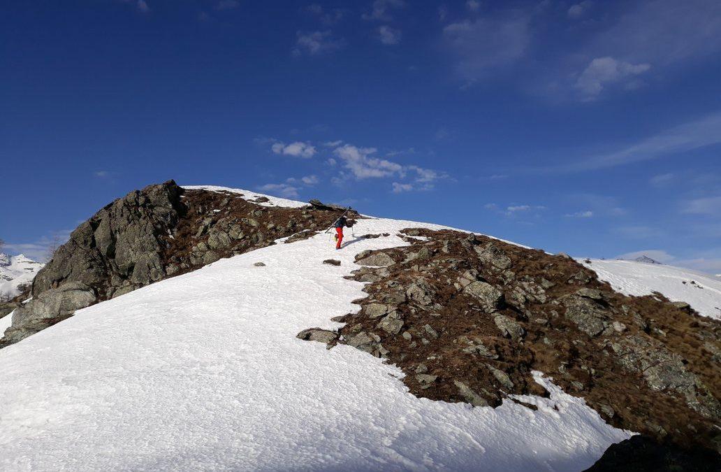 La traversata Monte Plu 2201m, Monte Doubia 2463m, Testa Missirola 2107m
