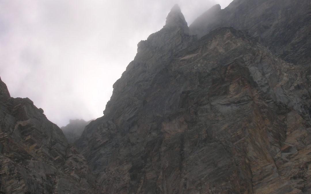 Il bacino della Gura, breve storia alpinistica