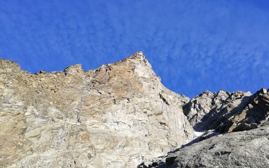 Punta Francesetti (3410m) via Manera-Ribetti