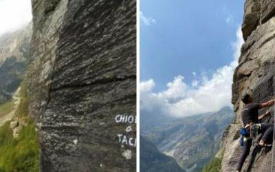 Parete del Roncet (Forno Alpi Graie)