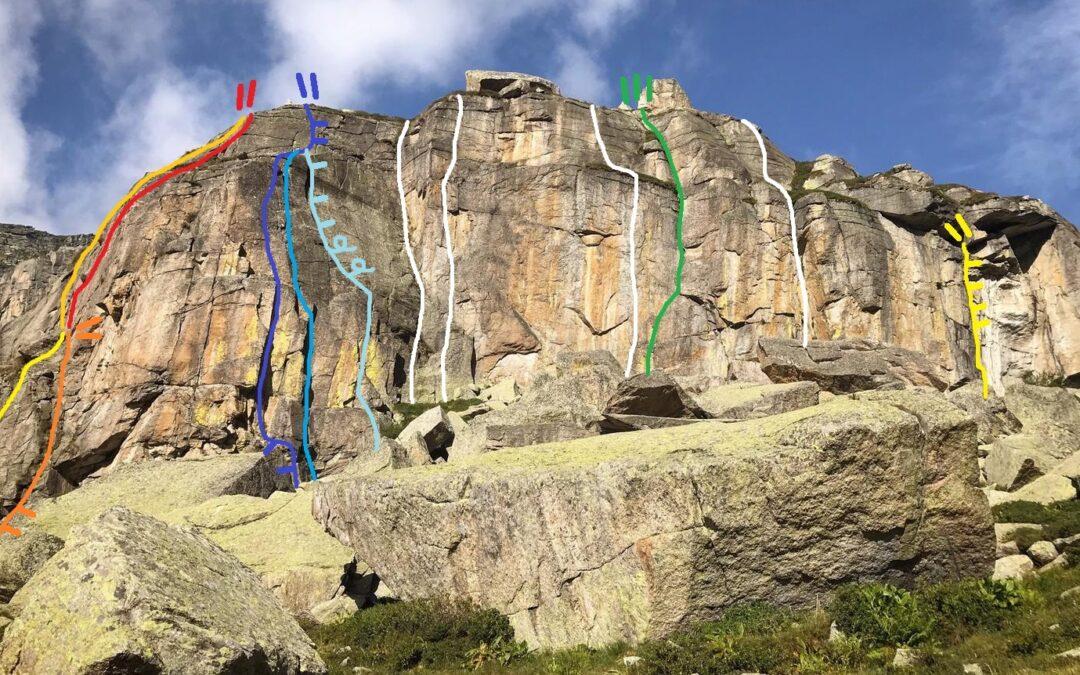 Il Monte Analogo, un nuovo trad spot nelle Valli di Lanzo