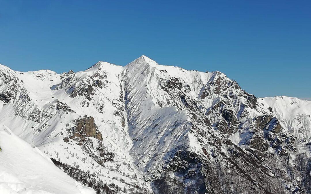 Il Canale Ovest della Cima Montù (2248m)