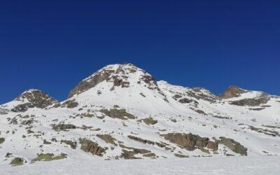 M. Morion (2839m) per il canale est e Colle Morion (2700m)