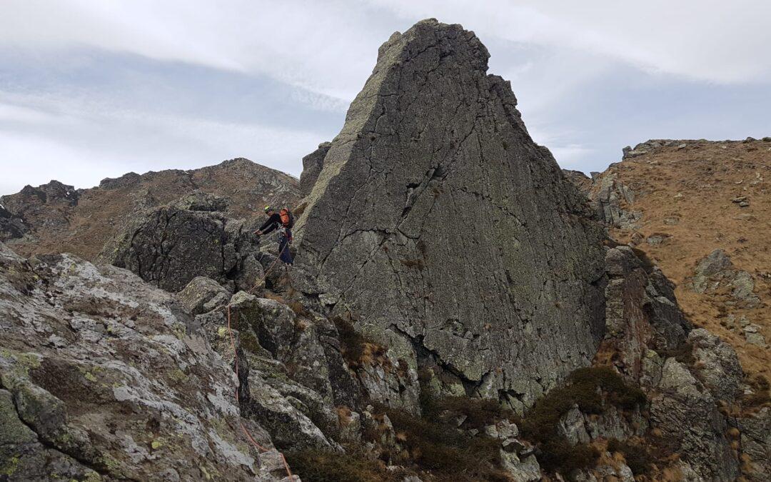 Cresta Botto al Monte Plù – quota fine cresta 1990m