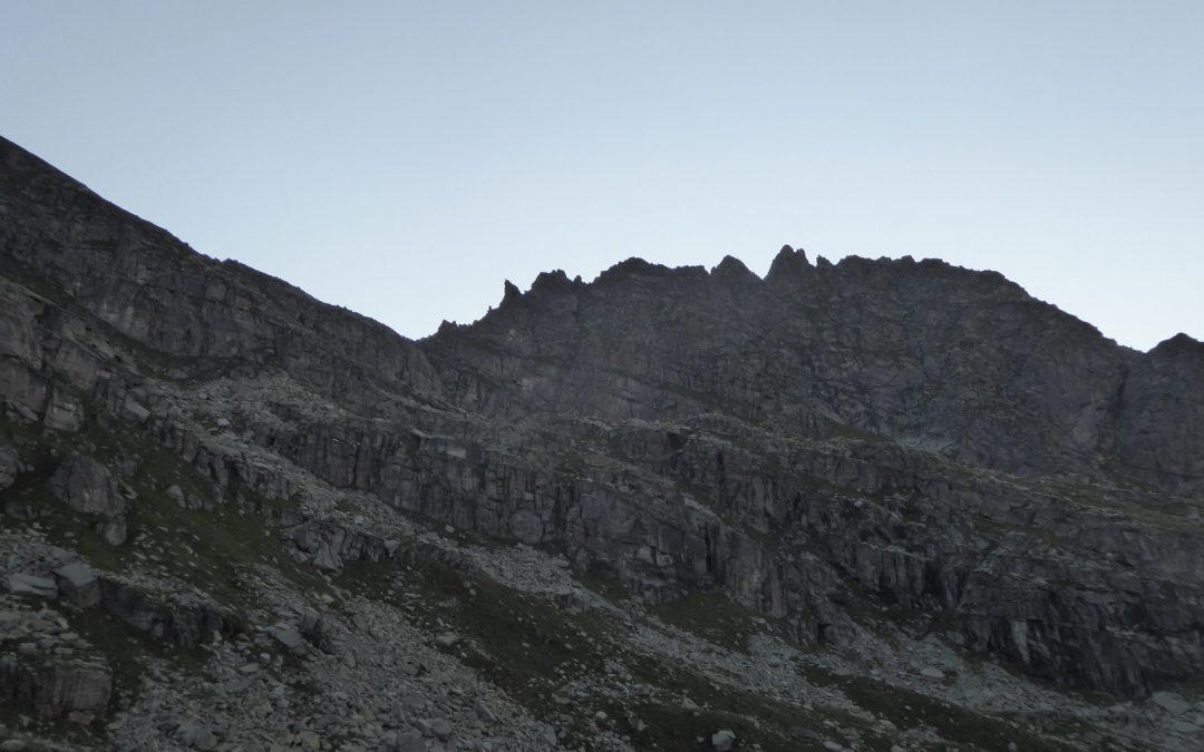 Cima Giardonera (2748m) – cresta nord ovest