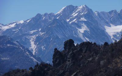 Uja di Bellavarda (2345m) – cresta sud